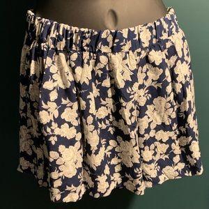 NWOT Z M H floral pajama shorts (6/$14)